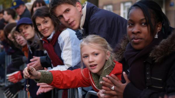 Julie (9 Jahre) hat eigentlich mit dem Amsterdam Marathon-Lauf nichts im Sinn. Und doch gerät sie mitten in das Sportereignis hinein... | Rechte: SR/EBU