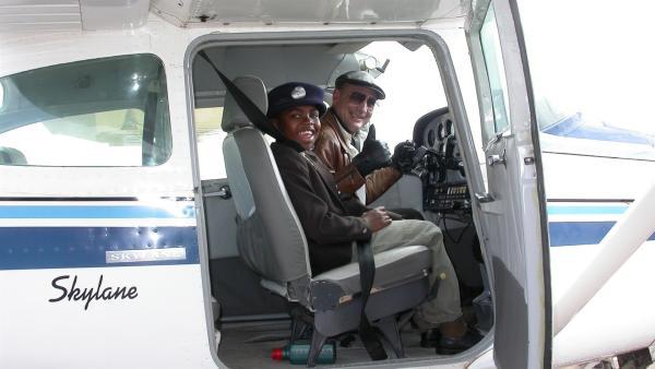 Jubulani träumt davon, Pilot zu werden. | Rechte: SR/EBU