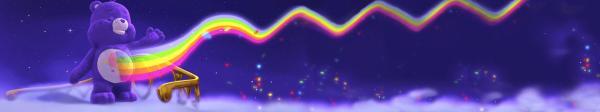 Brummbärchi, Olivia, Sonnenscheinbärchi, Hurrabärchi und Schmusebärchi vor dem verschlossenen Tor der Smaragdbrücke | Rechte: KiKA/TCFC