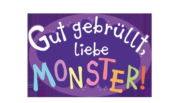 """Logo """"Gut gebrüllt, liebe Monster!""""   Rechte: ZDF"""