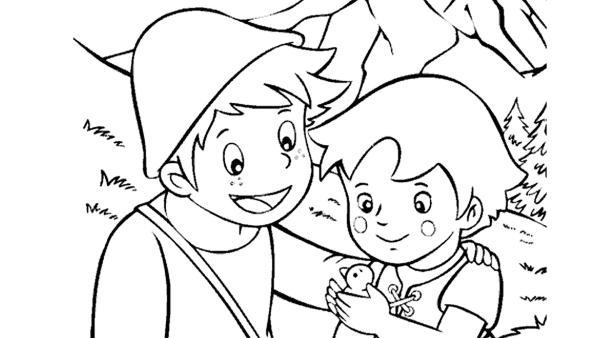 Heidi und Peter kümmern sich um einen Vogel | Rechte: kika