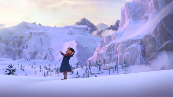 Endlich kann Heidi wieder raus. | Rechte: ZDF/Studio 100 Animation/Heidi Productions Pty. Limited