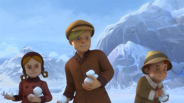 Karl und seine Bande wollen sich rächen. | Rechte: ZDF/Studio 100 Animation/Heidi Productions Pty. Limited