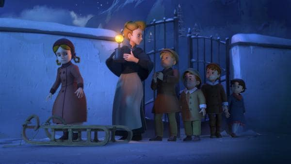 Theresa bekommt Ärger mit ihrer Mutter. | Rechte: ZDF/Studio 100 Animation/Heidi Productions Pty. Limited