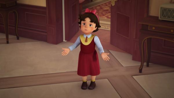Heidi hat eine Idee, wo Clara sein könnte. | Rechte: ZDF/Studio 100 Animation/Heidi Productions Pty. Limited