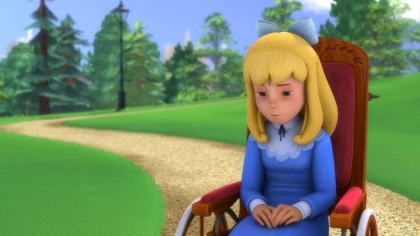 Clara wurde allein zurückgelassen und ist traurig. | Rechte: ZDF/Studio 100 Animation/Heidi Productions Pty. Limited