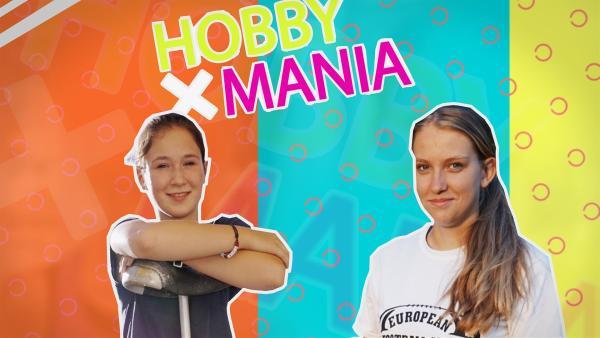 Lili (14, l.) liebt Zirkus, Diana (16) brennt für American Football. Nun lassen sich beide auf das Hobby der jeweils anderen ein. | Rechte: MDR/Cine Impuls