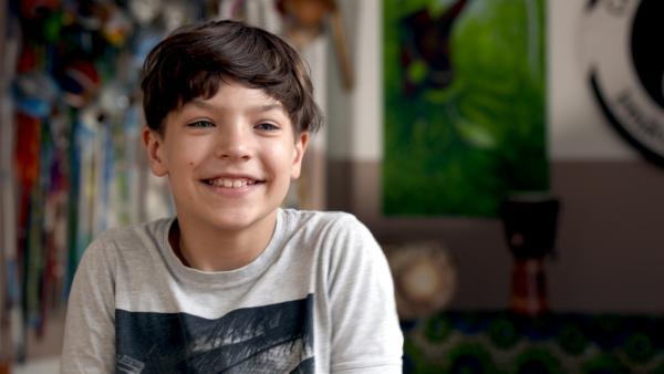 Für den elfjährigen Juri geht nichts über Sport, seine Lieblings-Sportart ist die brasillianische Kampfkunst Capoeira. | Rechte: MDR/Cine Impuls