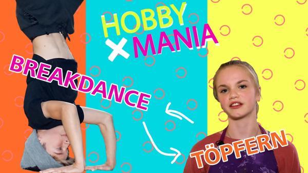 Breakdancer Adrian tauscht sein Hobby mit Thea, die in ihrer Freizeit töpfert. | Rechte: MDR/Cine Impuls