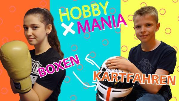 Stella tauscht ihr Hobby Boxen mit Fynns Hobby Kartfahren. | Rechte: MDR/Cine Impuls