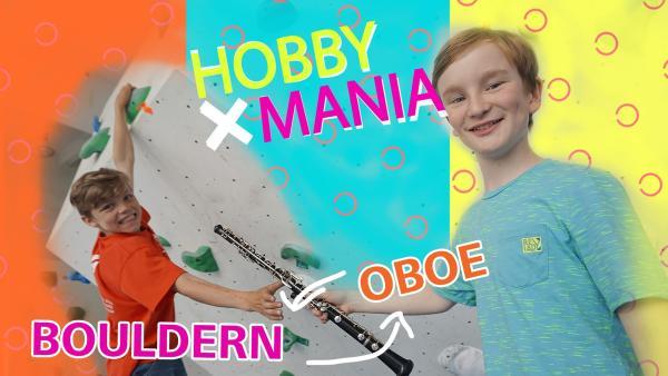 Artur und Till tauschen ihre Hobbies Bouldern gegen Oboe spielen. | Rechte: MDR/Cine Impuls