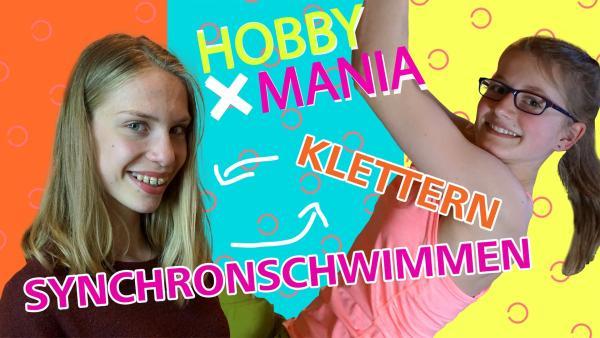 Hanna tauscht ihr Hobby Synchronschwimmen mit Adele, die gern klettert. | Rechte: MDR/Cine Impuls