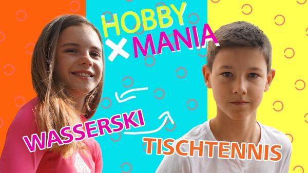 Emily fährt am liebsten Wasserski und tauscht ihr Hobby mit Luca, der Tischtennis spielt. | Rechte: MDR/Cine Impuls