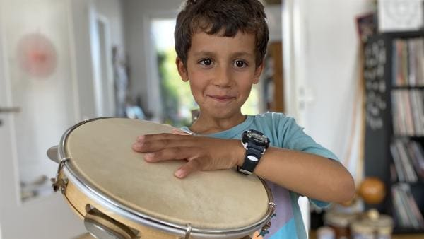 Luis (6) geht seit zwei Jahren zum Capoeira. | Rechte: rbb/Anja Hansmann