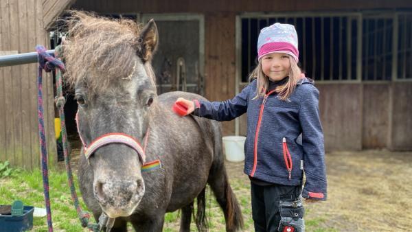 Nena mit Pony Molli | Rechte: hr/Robert Malzahn Prod.