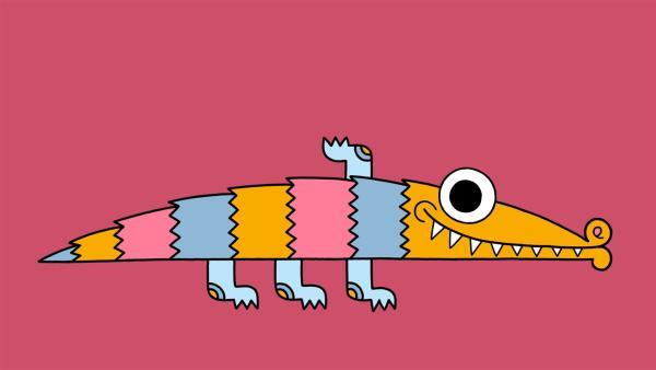 """Diesmal bei """"Ich kenne ein Tier"""": Das Krokodil   Rechte: SWR"""