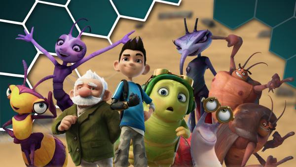 Alle Figuren | Rechte: KiKA/One Animation PTE Ltd.