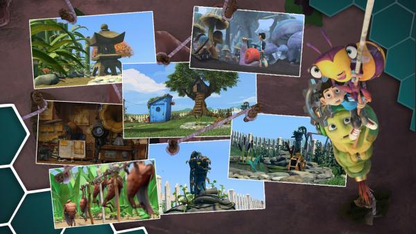 Grampa's Garten, in ihm lauern viele Abenteuer und Gefahren. | Rechte: KiKA/One Animation PTE LTD.