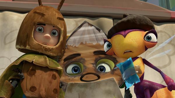 Die Schauspieltruppe: Zak, Chowser und Willow | Rechte: KiKA/One Animation PTE LTD.