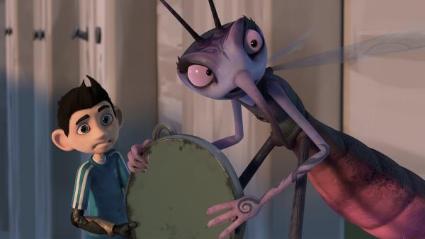 Mit welchem Trick können Zak und Adilla die Zombies zurückverwandeln? | Rechte: KiKA/One Animation PTE LTD.