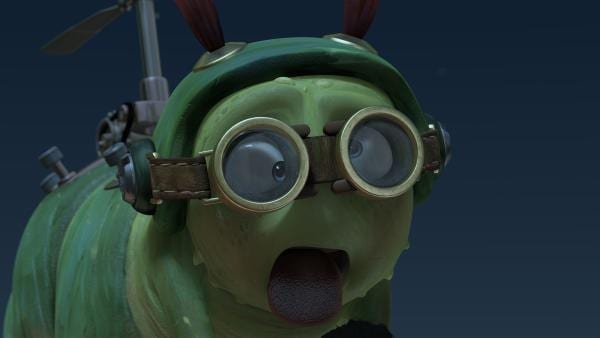 Auch Chowser hat es erwischt. Er benimmt sich ganz seltsam. | Rechte: KiKA/One Animation PTE LTD.