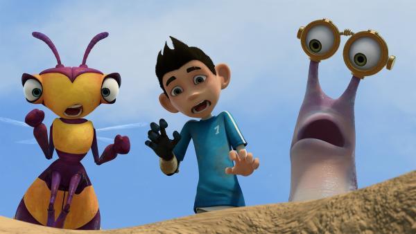 Willow, Zak und Syd machen eine überraschende Entdeckung. | Rechte: KiKA/One Animation PTE LTD.