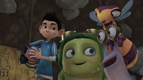 Wird Fred die Insectibles überlisten? | Rechte: KiKA/One Animation PTE LTD.