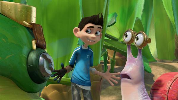 Zak hat einen Plan, um Willow aus der Falle zu befreien. | Rechte: KiKA/One Animation PTE LTD.