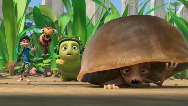 Warum verstecken sich die Termiten vor Zak, Willow und Chowser? | Rechte: KiKA/One Animation PTE LTD.