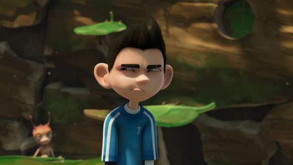 Zak hat das Gefühl, dass der Wettbewerb nicht ganz fair verläuft. | Rechte: KiKA/One Animation PTE LTD.