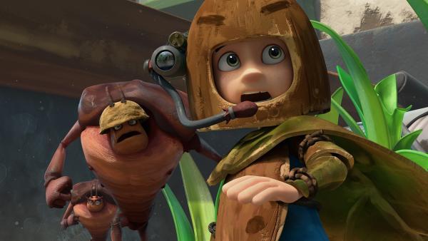 Zak muss vor den Kakerlaken fliehen. | Rechte: KiKA/One Animation PTE LTD.