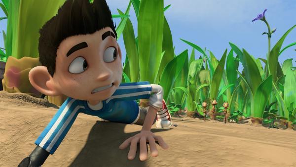 Zaks Erinnerung ist plötzlich wieder zurück. | Rechte: KiKA/One Animation PTE LTD.