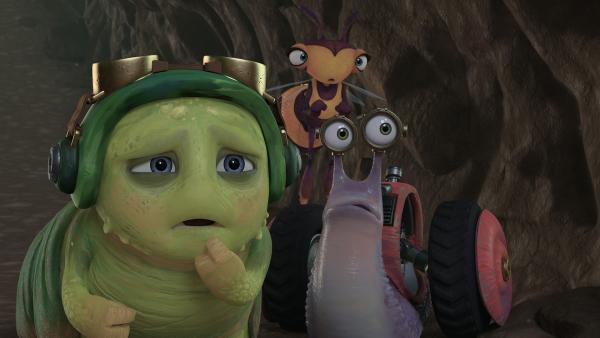 Zak benötigt die Hilfe von Chowser, Willow und Syd. | Rechte: KiKA/One Animation PTE LTD.