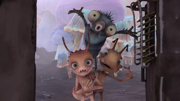 Die anderen Insekten haben viele Aufträge, die Willow lösen soll.  | Rechte: KiKA/One Animation PTE LTD.