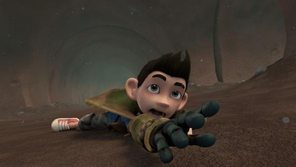 Zak wird von einer magischen Kraft angezogen. | Rechte: KiKA/One Animation PTE LTD.