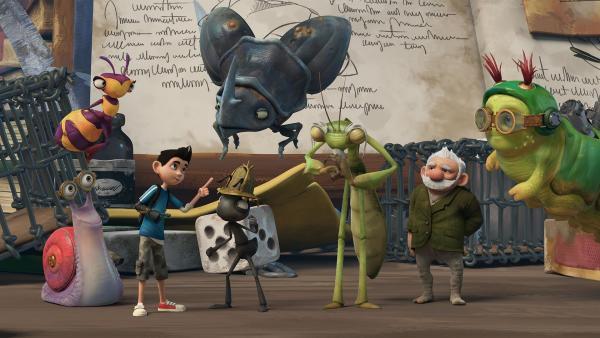Werden die Insectibles sie bezwingen? Wird Zak wieder zur Menschengröße wachsen? | Rechte: KiKA/One Animation PTE LTD.