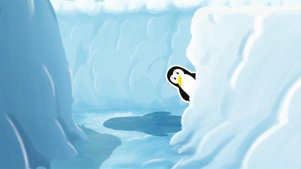 freigeschaufelten Gänge im Schnee. Genau genommen hat sie aber in diesem Labyrinth die Orientierung verloren. | Rechte: ZDF/JEP Animation