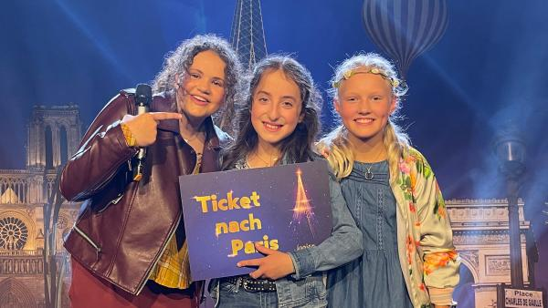 Pauline (mitte), Emilie (links) und Marta (rechts) | Rechte: KiKA/Jacqueline Kupey