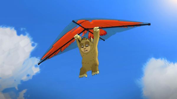 Siebenpunkt will hoch hinaus. | Rechte: ZDF/Flying Bark Productions