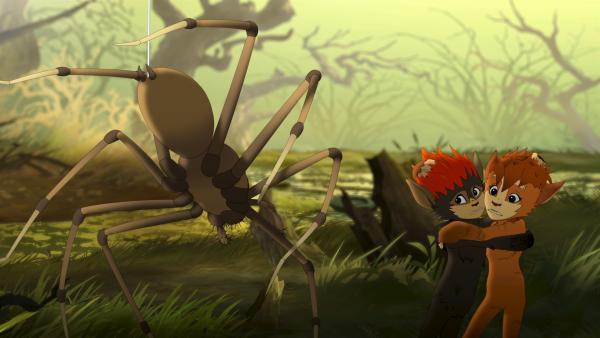 Angriff von der Sumpfspinne | Rechte: ZDF/Flying Bark Productions