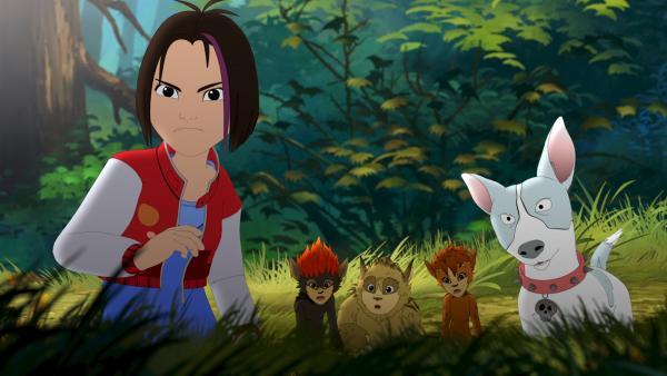 Alle suchen die kleinen Füchse. | Rechte: ZDF/Flying Bark Productions