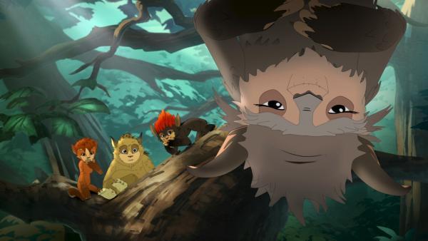 Nur Tausendschön kennt die Geheimnisse des Waldes. | Rechte: ZDF/Flying Bark Productions