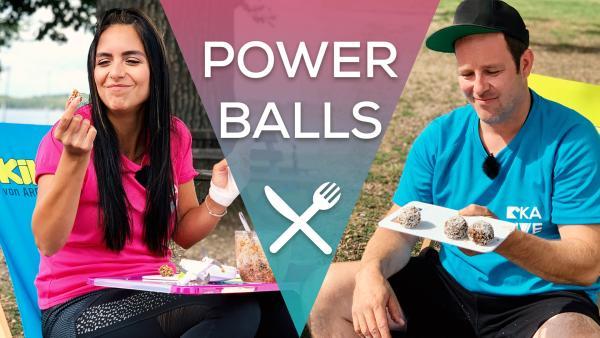 Snacken wie bei den KiKA LIVE Allstars - Power Balls | Rechte: KiKA