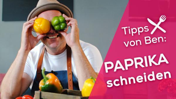 Bens Küchen-Hacks: Paprika schneiden | Rechte: KiKA