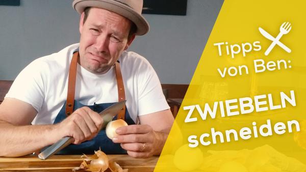 Bens Küchen-Hacks: Zwiebel schneiden | Rechte: KiKA