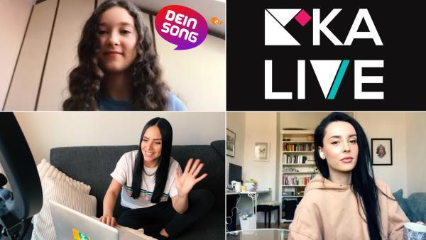 Dein Song backstage - Gewinnerin Emmie Lee | Rechte: KiKA