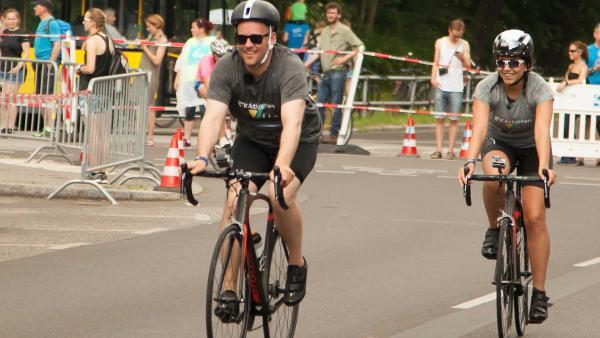 KiKA LIVE Triathlon | Rechte: KiKA/ Jörg Kowalski