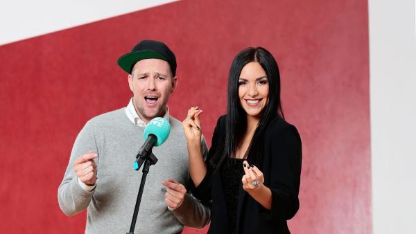 KiKA LIVE-Moderatoren Ben und Jess | Rechte: KiKA/Steffen Becker
