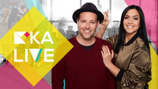 Die KiKA LIVE Moderatoren Ben und Jess | Rechte: KiKA/Bernd Jaworek