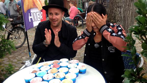Jess und Ben auf Fehmarn | Rechte: KiKA/ Eva Knäusel